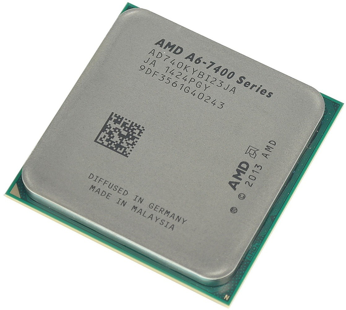 Процессор AMD A6-7400K (BOX) 3.5(3.9)GHz, 2core, 1Mb, Radeon R5, 65W (Socket FM2+)