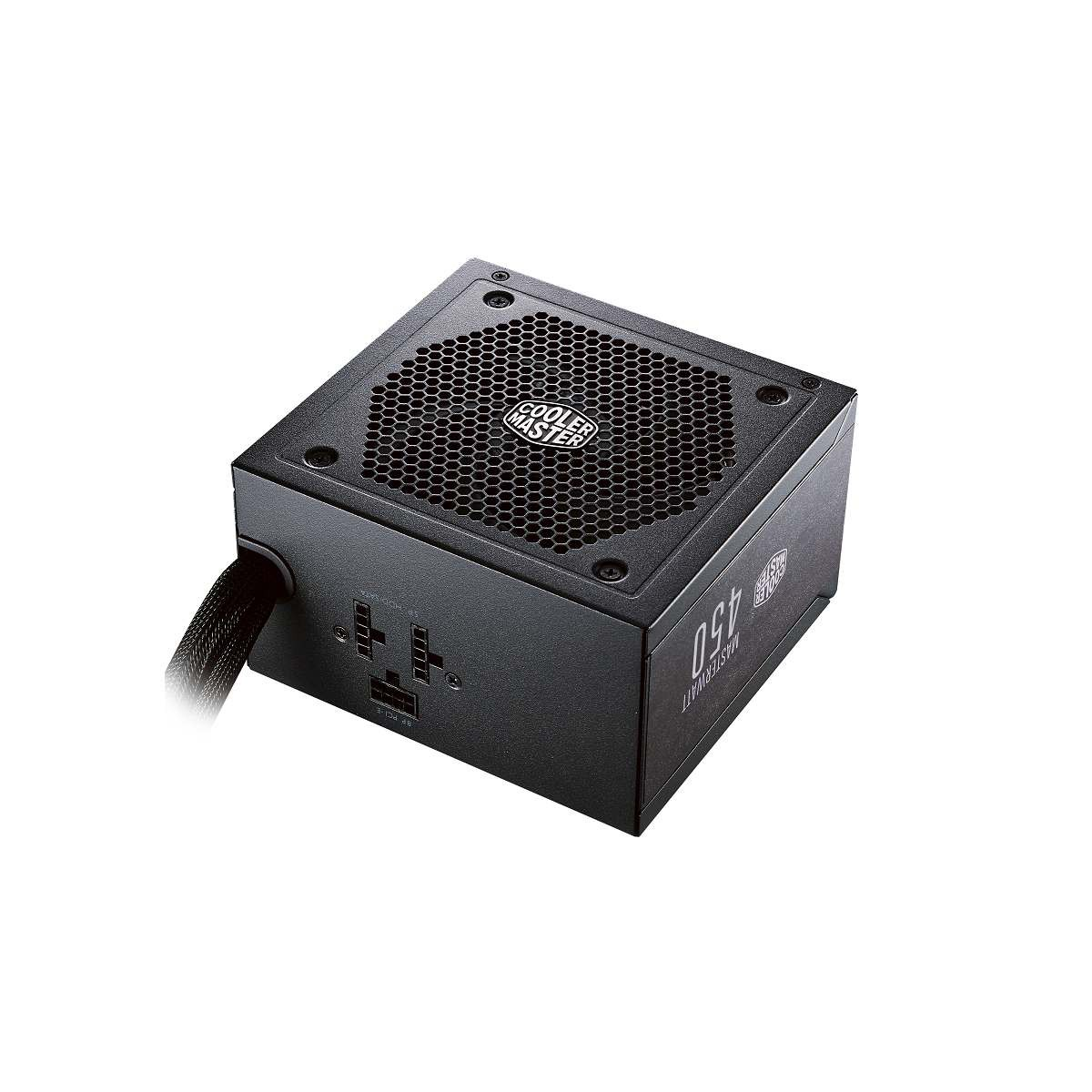 Блок питания 450W Cooler Master MasterWatt 450 (MPX-4501-AMAAB-EU) (120мм, 24+8pin, 2x6/8pin, 2xMolex, 6xSata, 80 Plus Bronze)