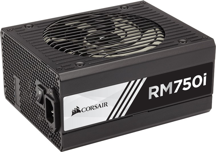 Блок питания 750W Corsair RM750i (CP-9020082-EU) (135mm, 24+8pin, 4x6/8-pin, 7хMolex, 8xSATA, Cable Management)