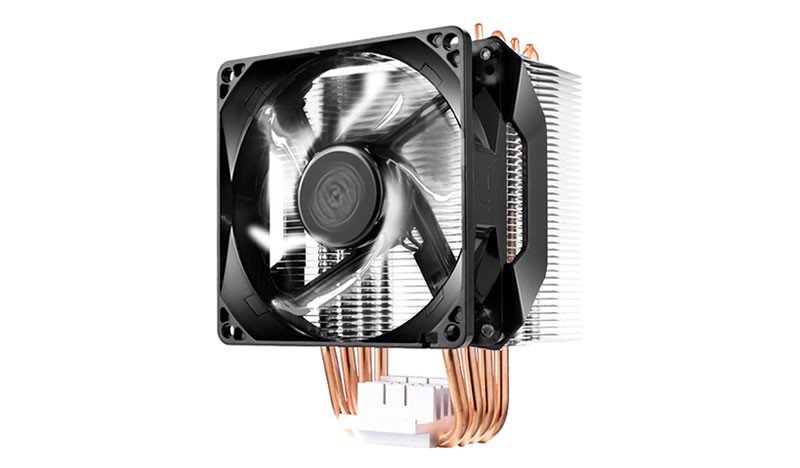 Вентилятор Cooler Master Hyper H411R (RR-H411-20PW-R1) (600-2000rpm, 29.4dBA, 34.1CFM, 4-pin, 140W, LED White) (Socket All)