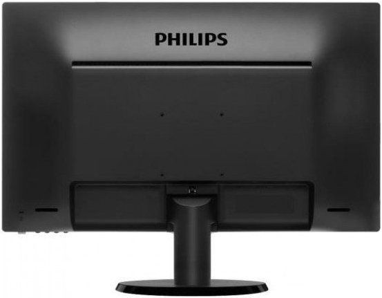 "Монитор 23.6"" Philips 243V5LSB/01 Black (1920x1080, TN+Film, D-Sub (VGA), DVI)"