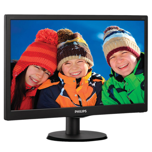 "Монитор 20"" Philips 203V5LSB26/10 Black (1600x900, D-sub)"