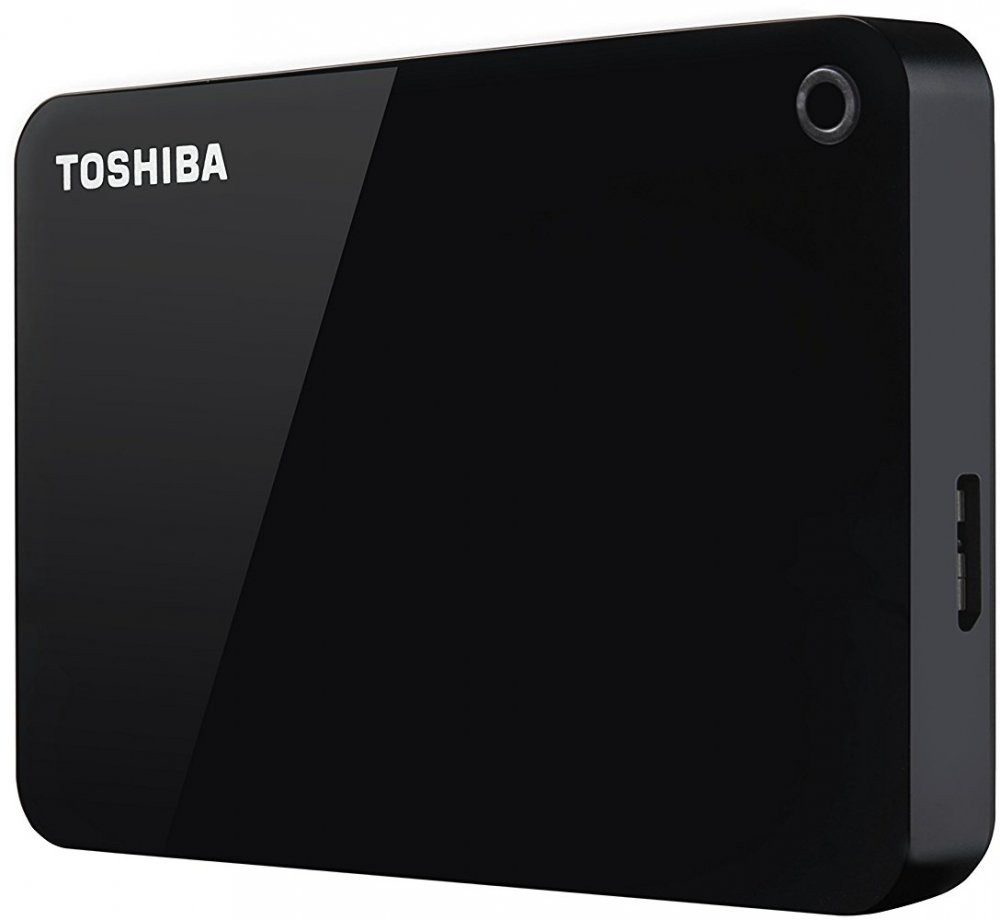 Внешний жесткий диск 1Tb Toshiba Canvio Advance (HDTC910EK3AA) Black USB 3.0