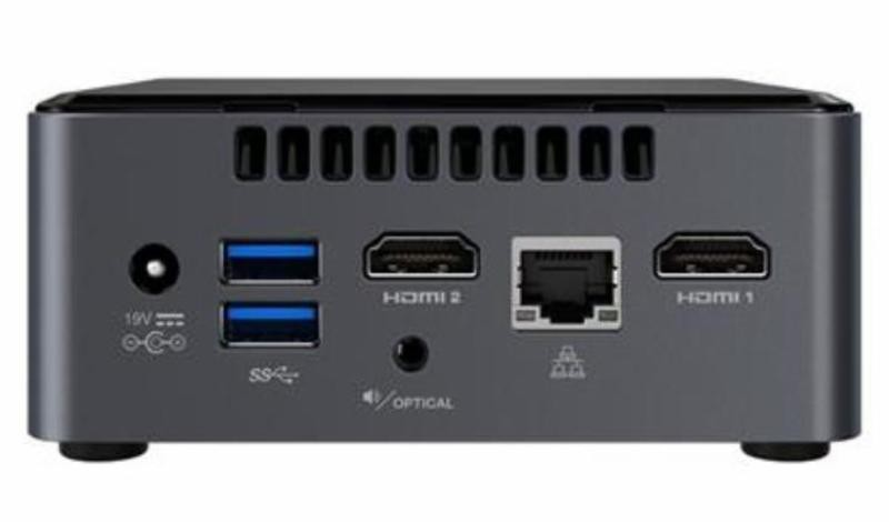 "Баребон Intel NUC BOXNUC7CJYH2 Celeron J4005/ 2xDDR4 SO-DIMM/ 1x SATA 2.5""/ WiFi/ Bluetooth"