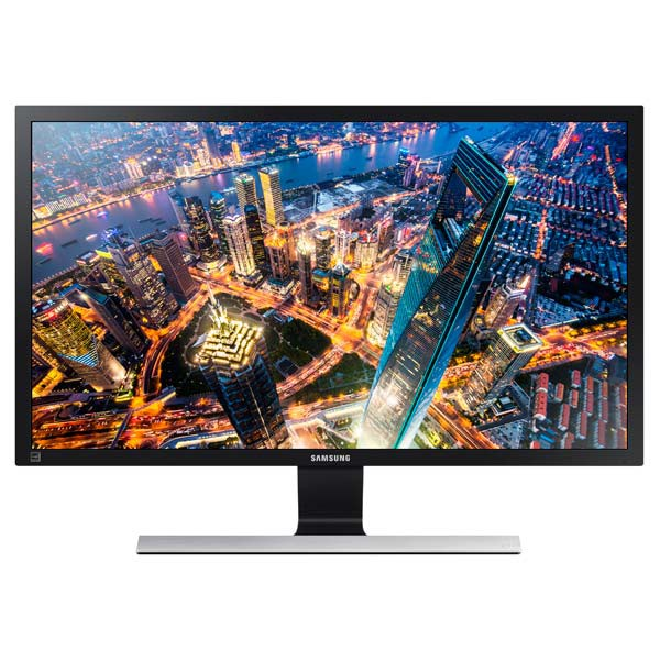 "Монитор 28"" Samsung U28E590D Black (3840x2160, 60 Гц, TN+Film, Flicker-free, HDMI, DisplayPort)"
