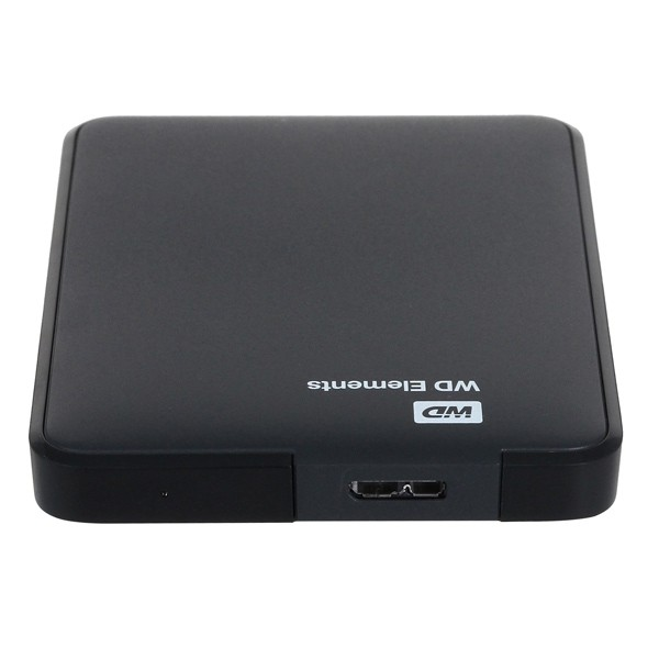 "Внешний жесткий диск 1Tb Western Digital Elements portable (WDBUZG0010BBK-WESN) Black 2.5"", USB 3.0"