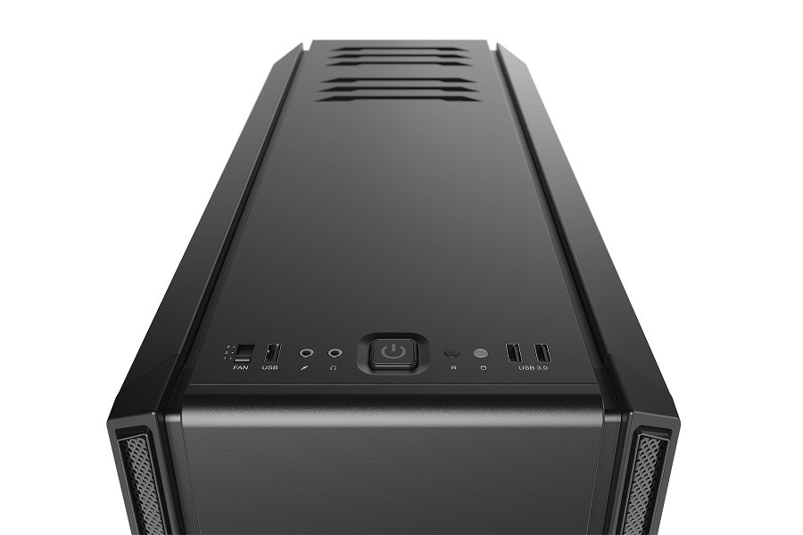 Корпус be quiet! SILENT BASE 601 WINDOW BLACK (BGW26) (Bigtower, E-ATX, 1xUSB 2.0, 2xUSB 3.0, 2xFan, с окном, без БП)