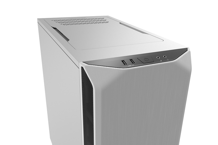 Корпус be quiet! PURE BASE 500 WHITE (BG035) (Miditower, ATX, 2xUSB 3.0, 2xFan, шумоизоляция, без БП)