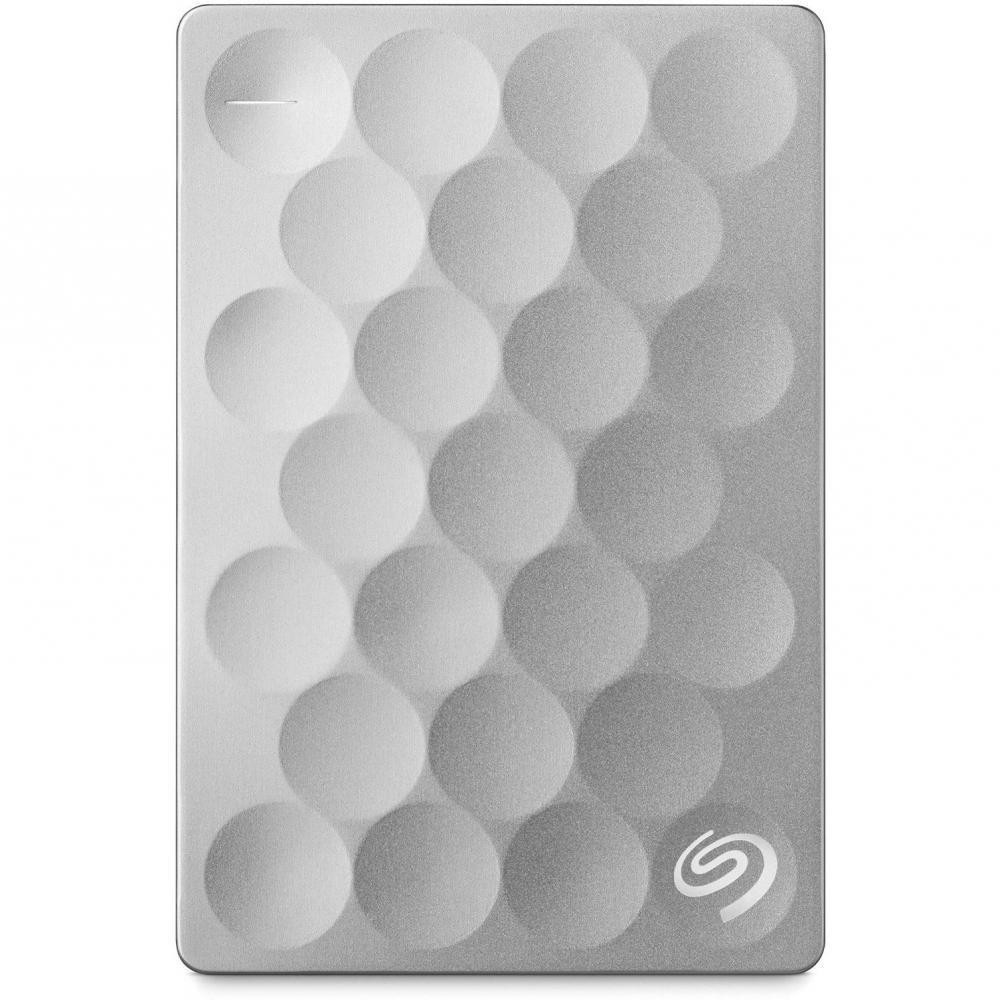 "Внешний жесткий диск 2Tb Seagate BackUp Plus Ultra Slim Platinum (STEH2000200) 2.5"" USB 3.0"