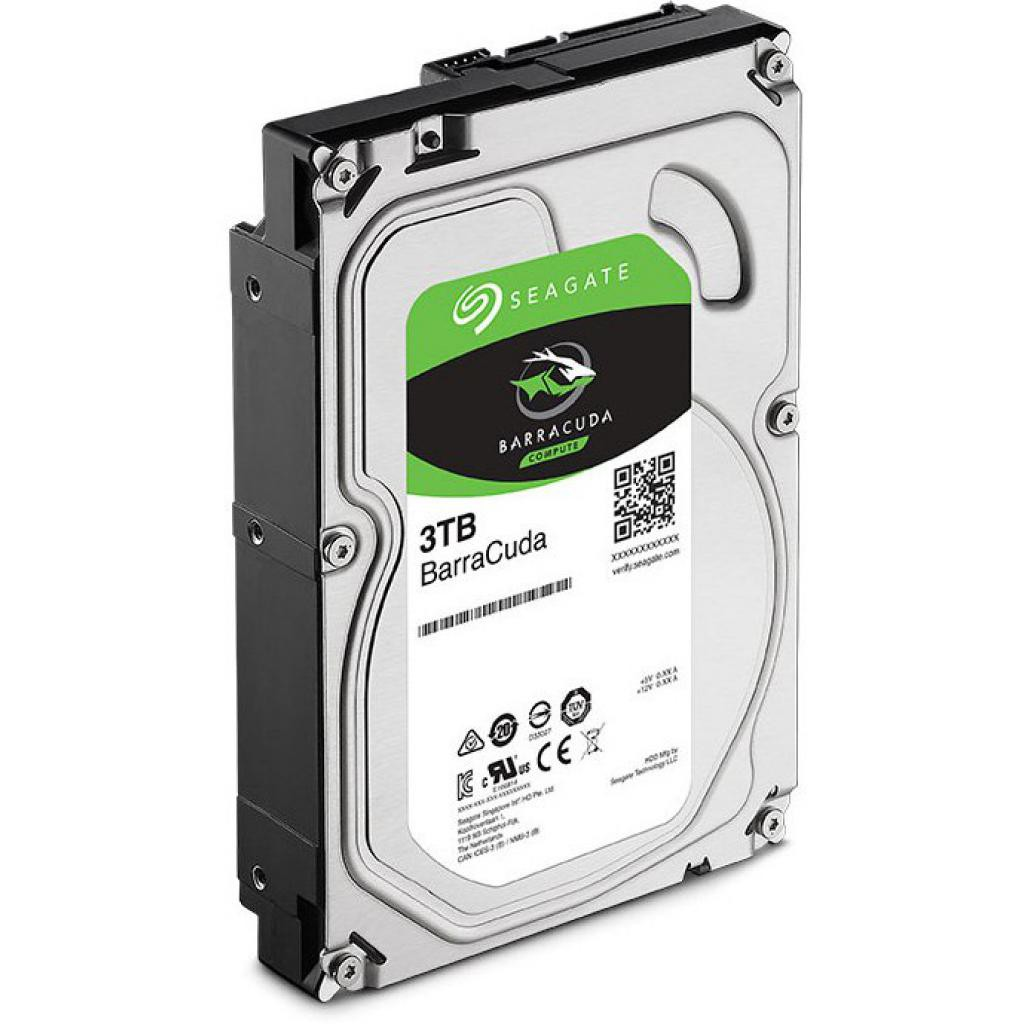 Жесткий диск 3Tb Seagate Barracuda (ST3000DM007) (SATA-6Gb/s, 7200rpm, 256Mb)