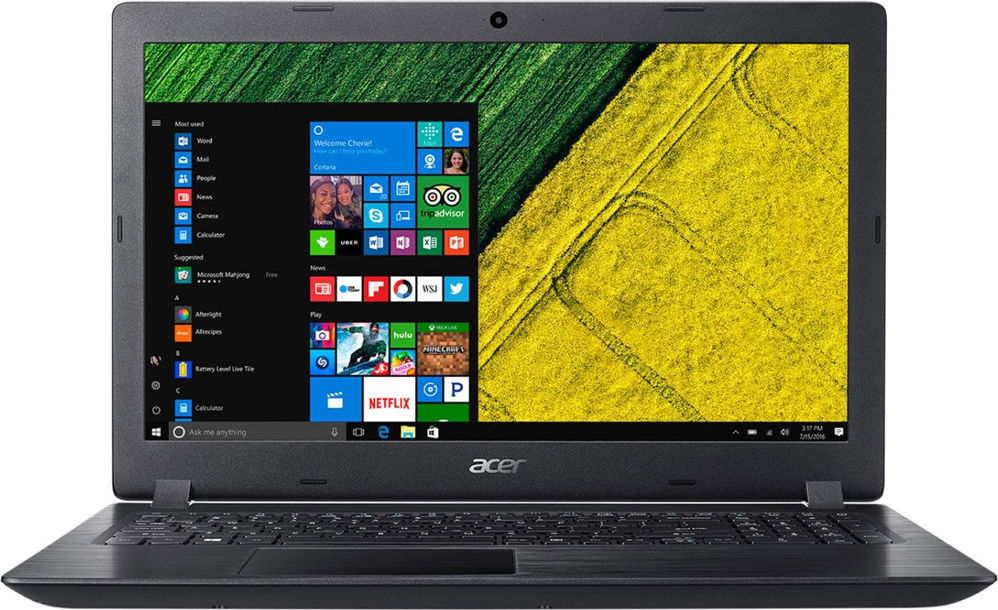"Ноутбук Acer Aspire A315-53G-38DM (NX.H18EU.011) Black 15.6"" (1920x1080)/ Core i3-7020U/ 4Gb/ 1Tb/ MX 130 2Gb/ Linux"