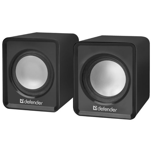 Колонки Defender SPK 22 Black (2.0, 2x2.5W, USB)