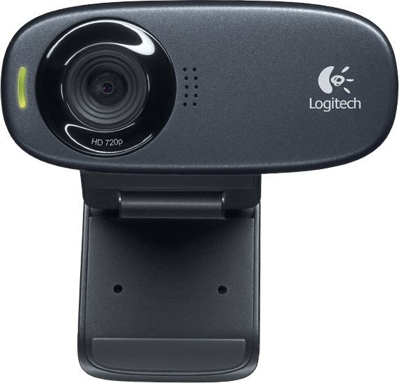 Веб-камера Logitech HD Webcam C310 (960-001065) Black (1280x720, Mic, USB 2.0)