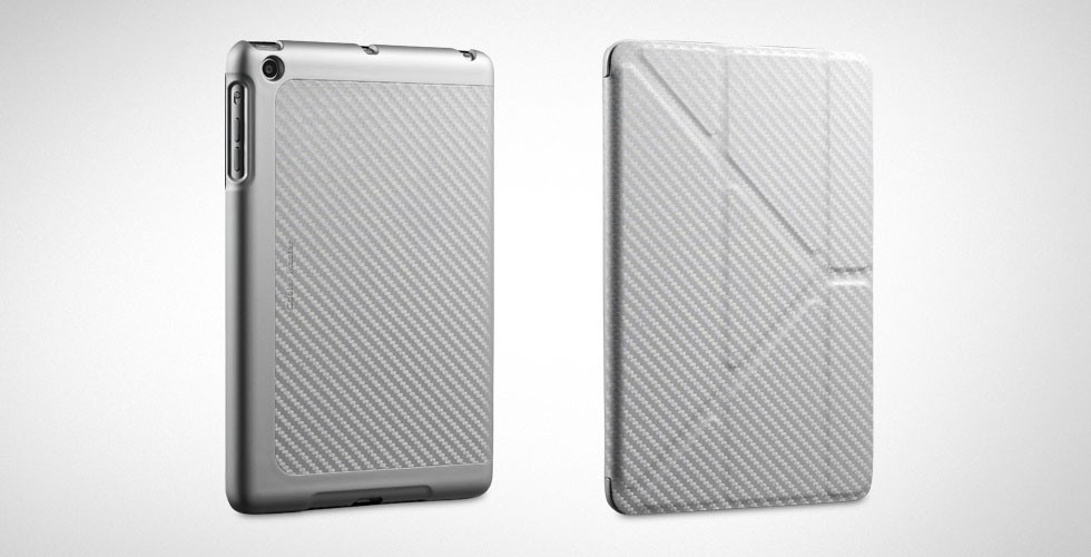 Чехол для планшета Cooler Master Yen Folio Carbone Texture For iPad mini (C-IPMF-CTYF-SS) Silver для Apple iPad mini