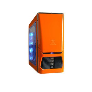 Корпус JET CA-605-ORANGE Gladiator (Miditower, 4x USB, без БП)