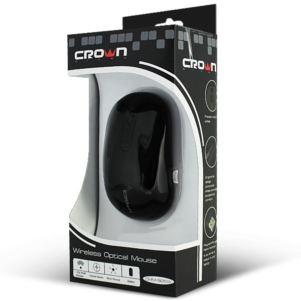 Мышь Crown Micro CMM-926W Black