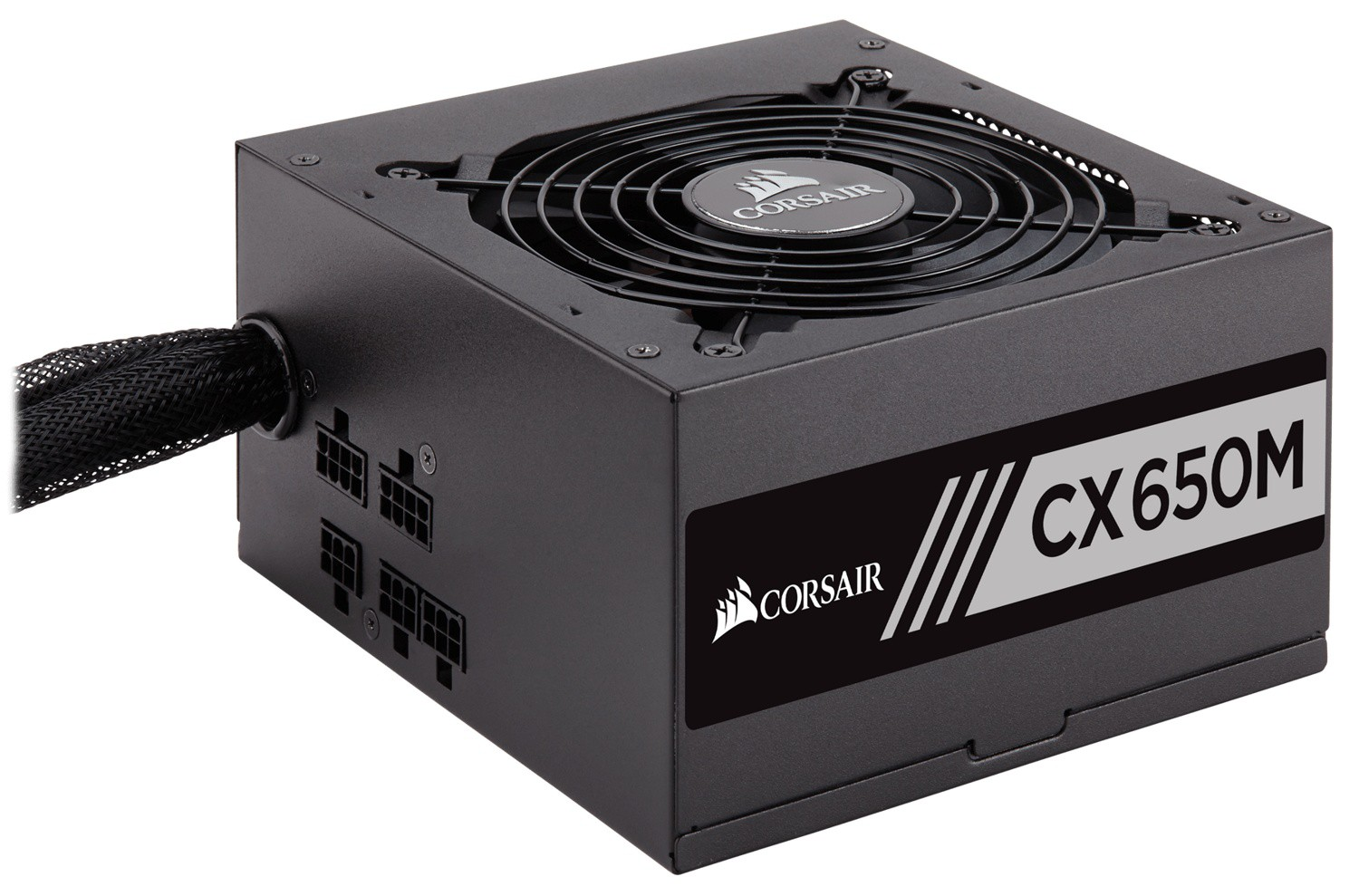 Блок питания 650W Corsair CX650M (CP-9020103-EU) (120mm, 24+8pin, 2x6/8pin, 4xMolex, 6xSATA, aPFC, Cable Management, 80 PLUS Bronze)