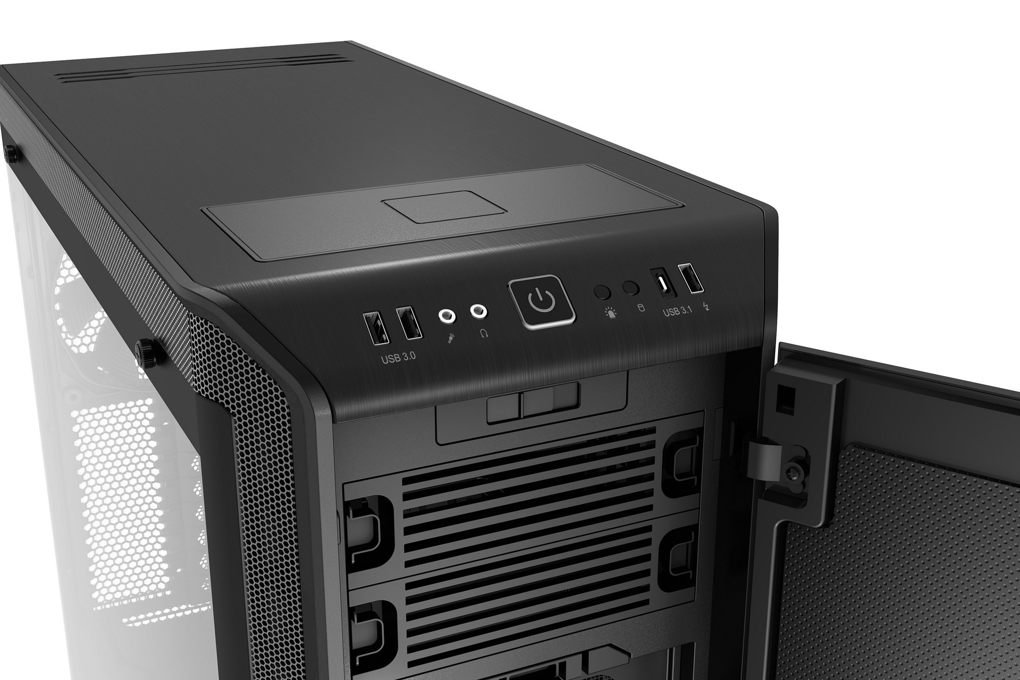 Корпус be quiet! DARK BASE PRO 900 BLACK rev. 2 (BGW15) (Bigtower, EATX, 2xUSB 3.0, 1xUSB 3.1 Gen2 Type-C, без БП, 3xFan, RGB Strip, Window)