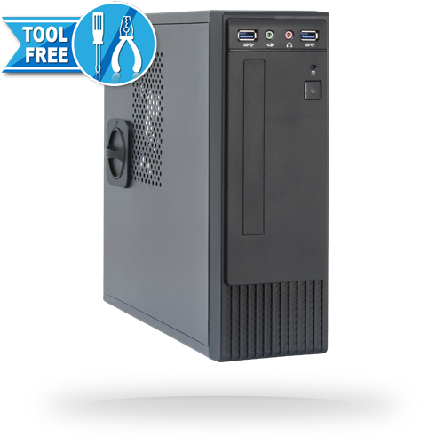 Корпус Chieftec Flyer FI-03B 250W Black (ITX, USB 3.0)