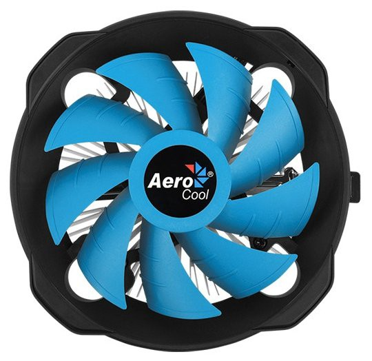 Вентилятор Aerocool BAS AUG (SocAll, 1000-2000rpm, 29.9-59.8CFM, 14.8-26.3dB, 125W, 4pin)