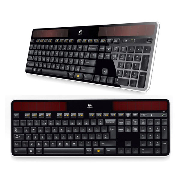 Клавиатура Logitech Wireless Solar Keyboard K750 (920-002938) (Retail)