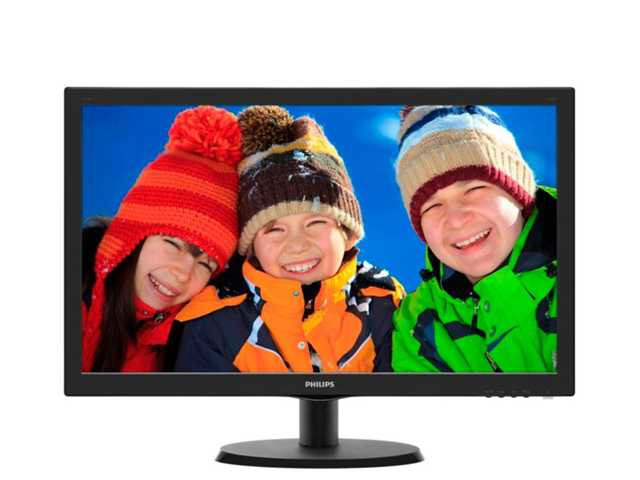 "Монитор 22"" Philips 223V5LSB2/10 Black (1920x1080, D-sub)"