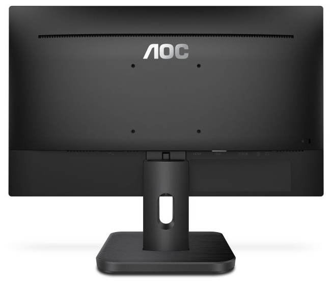 "Монитор 21.5"" AOC 22E1D Black (1920x1080, TN+Film, Flicker free, D-Sub (VGA), DVI, HDMI, 2х2 Вт)"