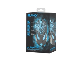 Мышь Fury Gladiator (NFU-0870) 3200dpi Illuminated Black