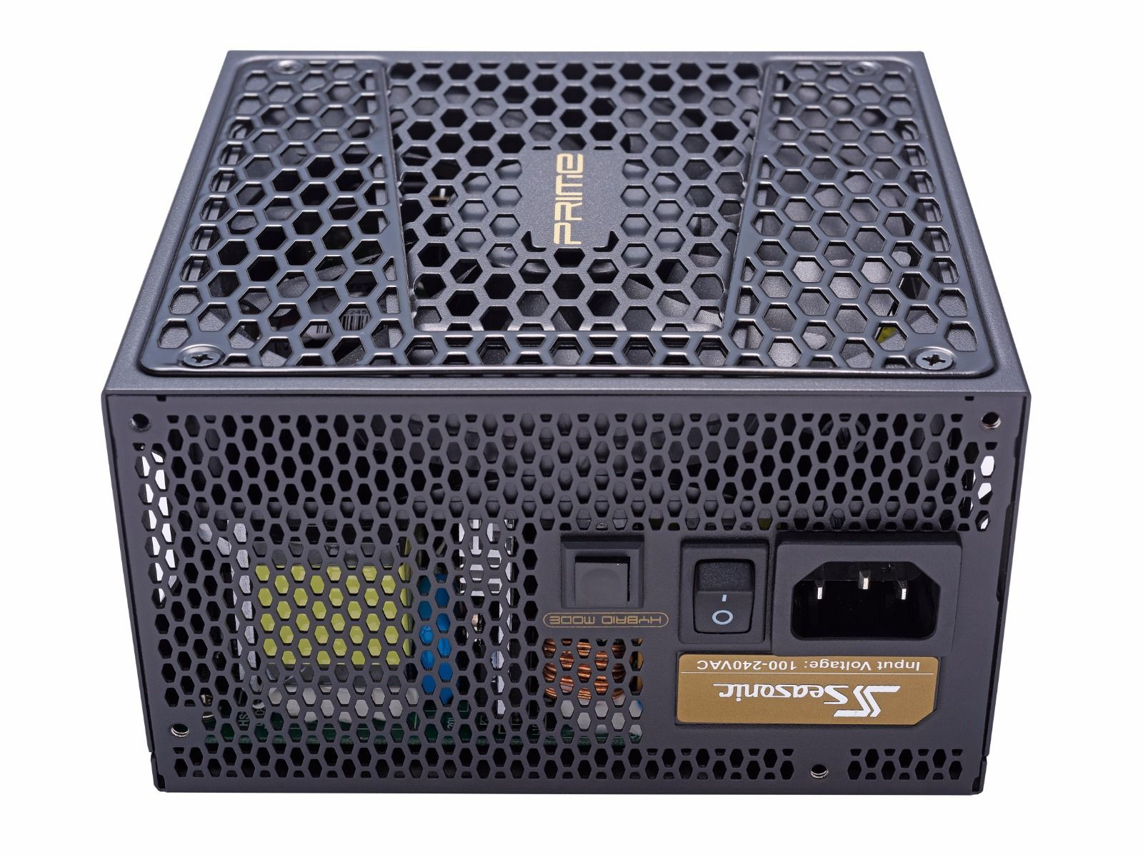 Блок питания 650W Seasonic Prime Ultra Gold (SSR-650GD2) (135мм, 24+8pin, 4x6/8pin, 6хSATA, 3xMolex, 80 PLUS Gold)