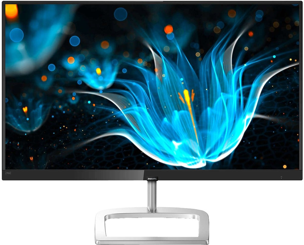 "Монитор 23.8"" Philips 246E9QDSB/01 Black/Silver (1920x1080, IPS, Flicker free, FreeSync, D-Sub (VGA), DVI, HDMI)"