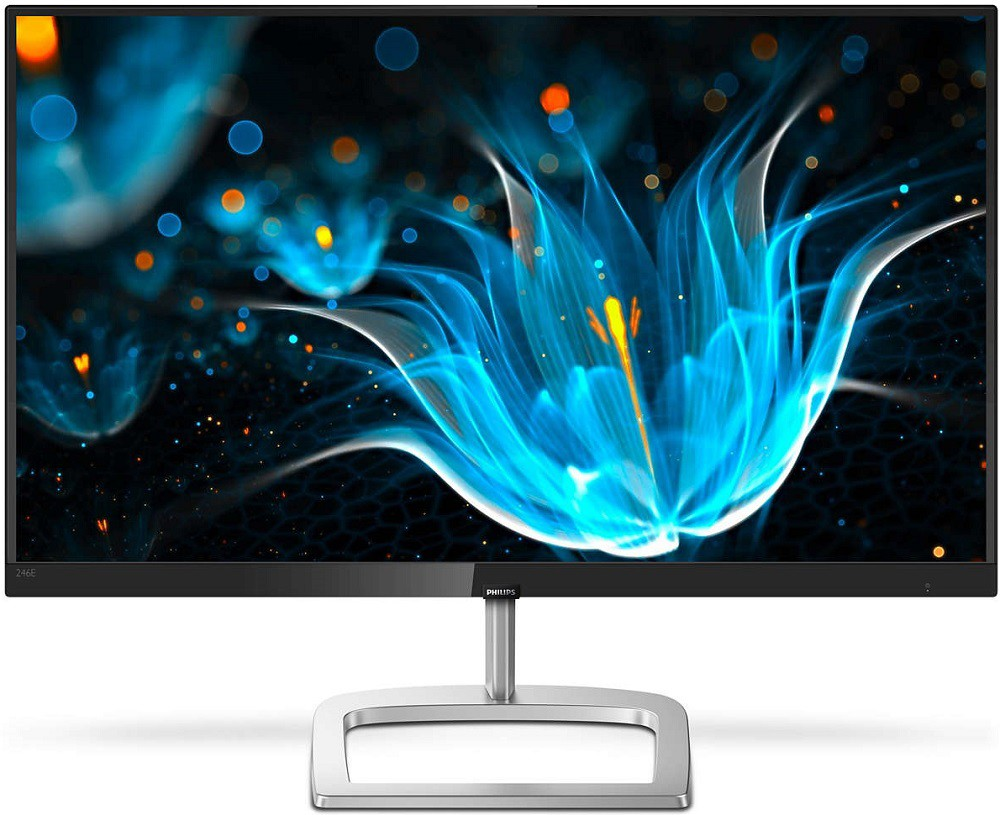 "Монитор 23.8"" Philips 246E9QJAB/01 Black/Silver (1920x1080, IPS, Flicker free, FreeSync, D-Sub (VGA), HDMI, DisplayPort, встроенные колонки)"