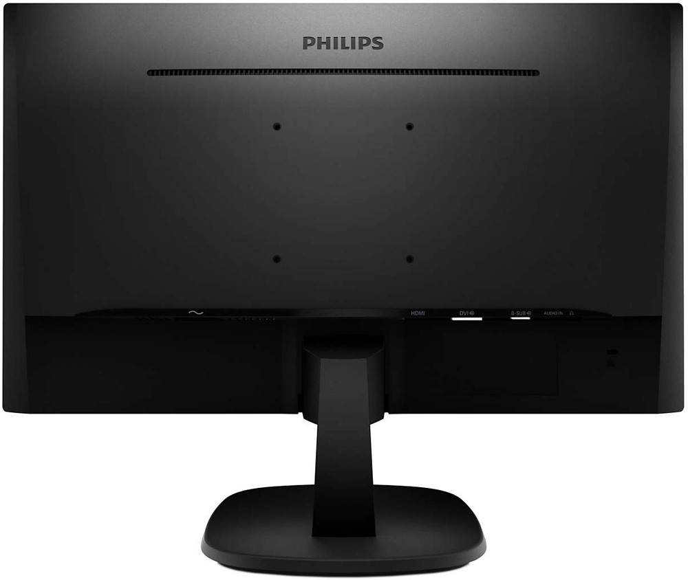 "Монитор 27"" Philips 273V7QDAB/00 Black (1920x1080, AH-IPS, Flicker free, D-Sub (VGA), DVI, HDMI, динамики)"