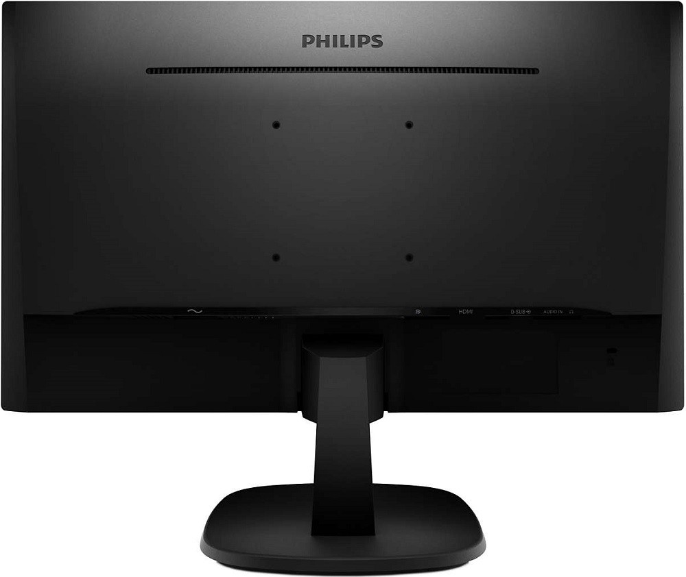 "Монитор 27"" Philips 273V7QJAB/00 Black (1920x1080, IPS, Flicker free, D-Sub (VGA), HDMI, DisplayPort, динамики)"