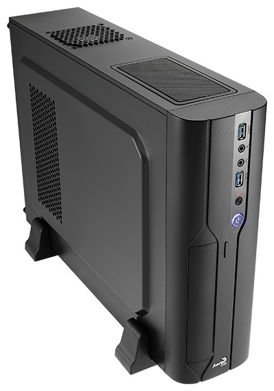 Корпус Aerocool Cs-101 400W Black (Desktop, microATX, USB3, Fan)